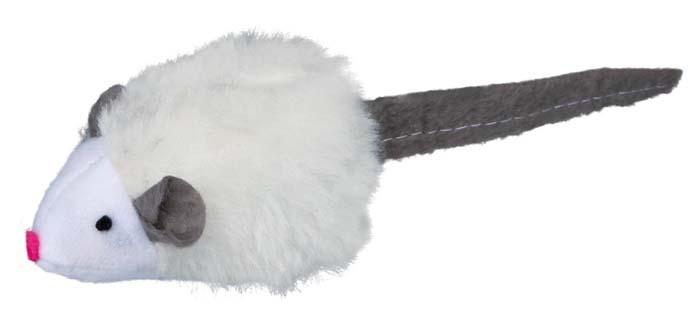 Zabawki - Trixie Myszka piszcząca z pluszu 6,5cm