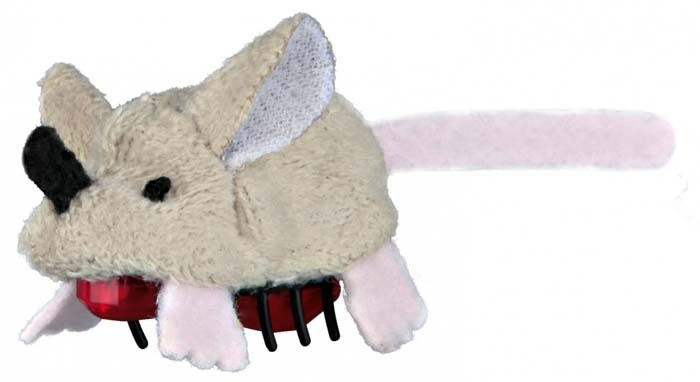 Zabawki - Trixie Myszka ruchoma 5,5cm