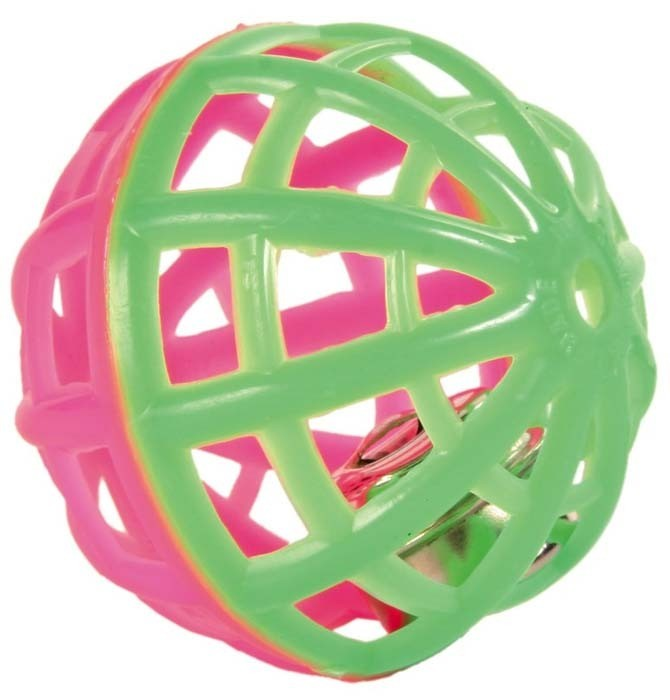 Zabawki - Trixie Piłki mix 3szt. 4cm