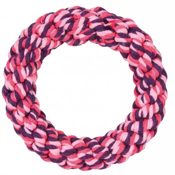 Zabawki - Trixie Pierścień ze sznurka 14cm