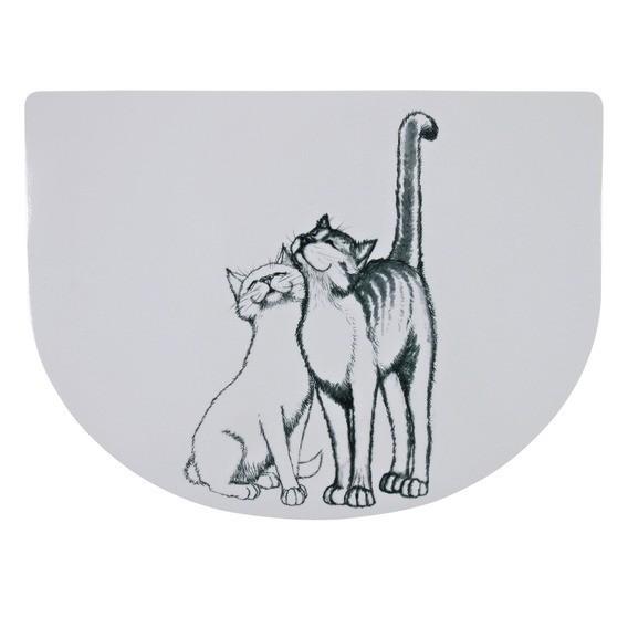 Miski i akcesoria do misek - Trixie Podkładka pod miskę Pussy Cat