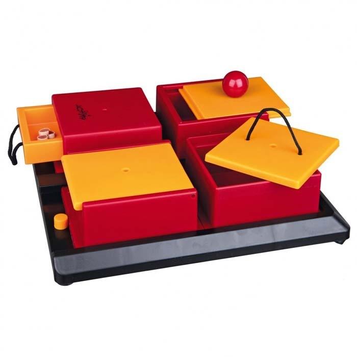 Zabawki - Trixie Poker Box 1 interaktywna zabawka na przysmaki 31 x 31cm
