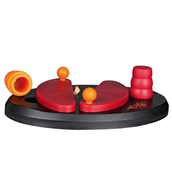 Zabawki - Trixie Push Away interaktywna zabawka na przysmaki 25cm x 17cm