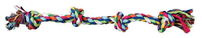 Zabawki - Trixie Sznur bawełniany 54cm