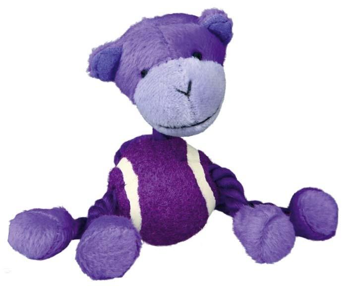 Zabawki - Trixie Sznur z piłką tenisową 16cm