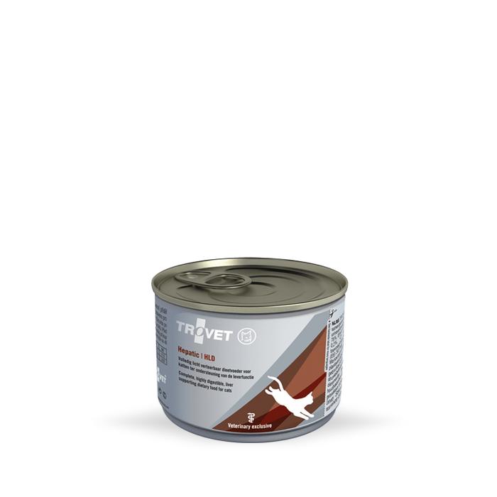 Karmy mokre dla kota - Trovet HLD Hepatic 175g