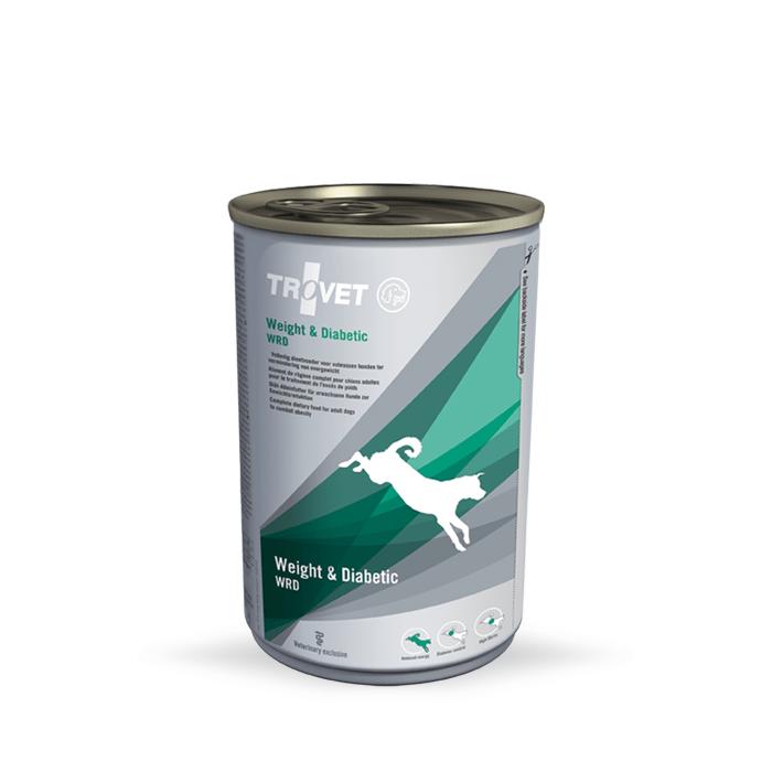 Karmy mokre dla psa - Trovet WRD Weight & Diabetic 400g