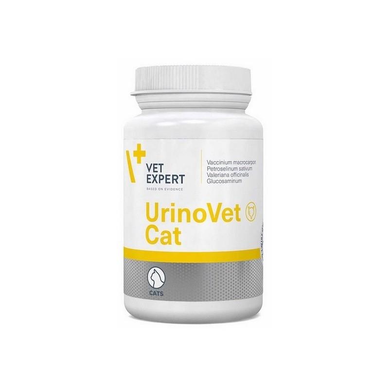 Suplementy - VetExpert UrinoVet Cat 45 kapsułek