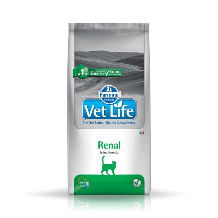Karmy suche dla kota - Farmina Vet Life Cat Renal
