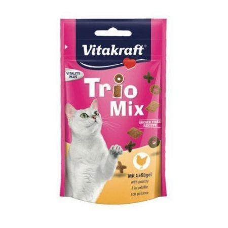 Przysmaki dla kota - Vitakraft Kot Trio mix drobiowy 60g