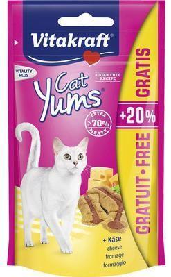 Przysmaki dla kota - Vitakraft Kot Cat Yums kurczak z trawą +20% 48g