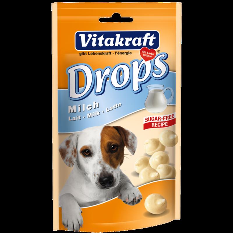 Przysmaki dla psa - Vitakraft Pies Dropsy mleczne 200g