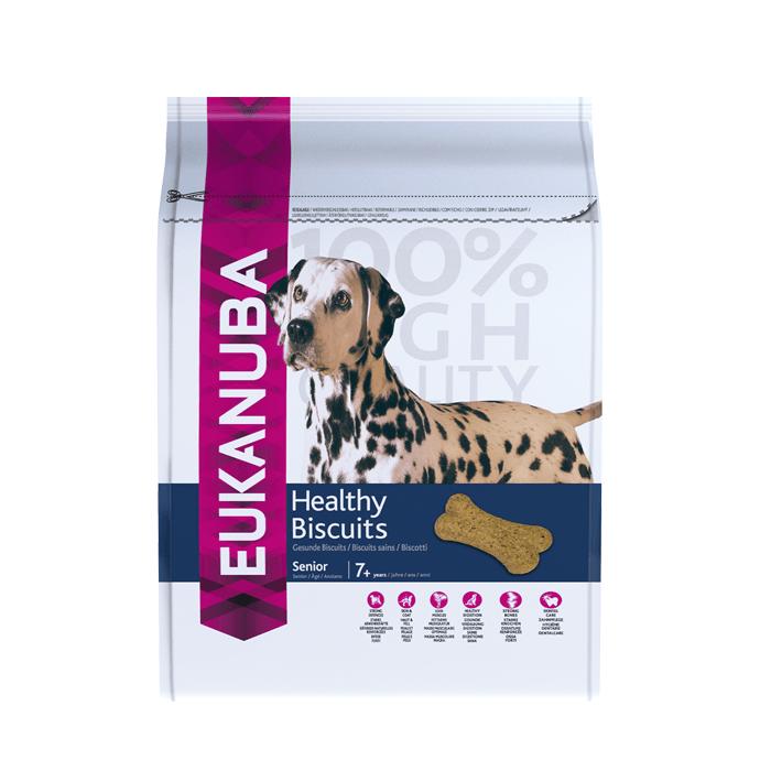 Przysmaki dla psa - Eukanuba Healthy Biscuits Senior Mature 200g