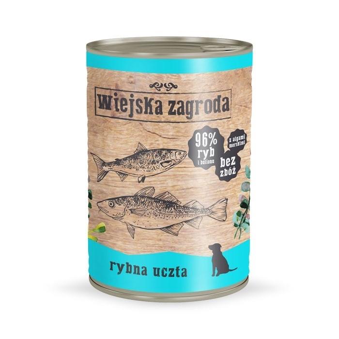 Karmy mokre dla psa - Wiejska Zagroda 400g x 12