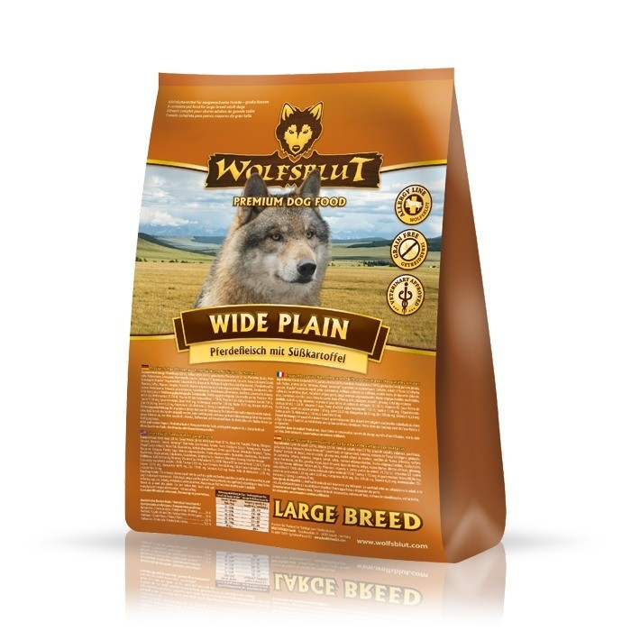 Karmy suche dla psa - Wolfsblut Dog Large Breed Wide Plain