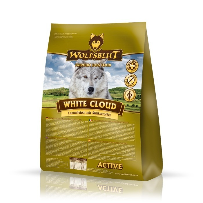 Karmy suche dla psa - Wolfsblut Dog White Cloud Active