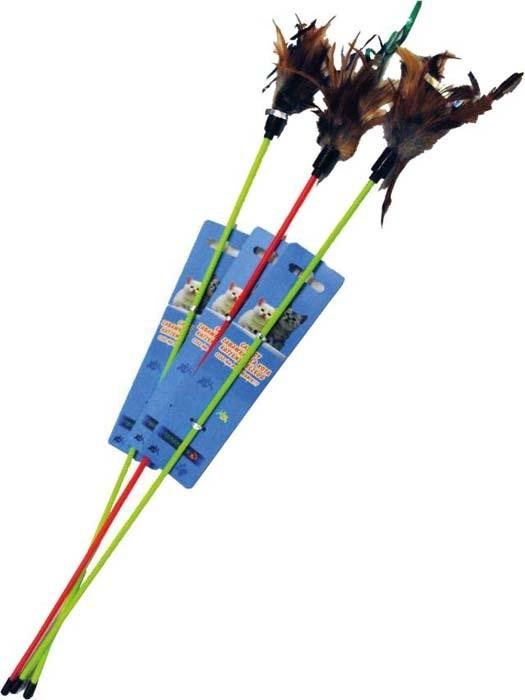 Zabawki - Yarro Zabawka patyk z piórkiem 32cm