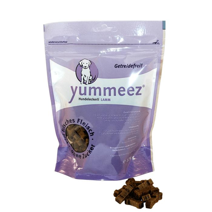 Przysmaki dla psa - Yummeez kosteczki z jagnięciną 175g