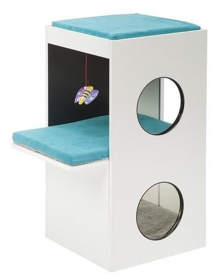 Drapaki, tunele dla kota - Ferplast Drapak Blanco 40x55x80cm