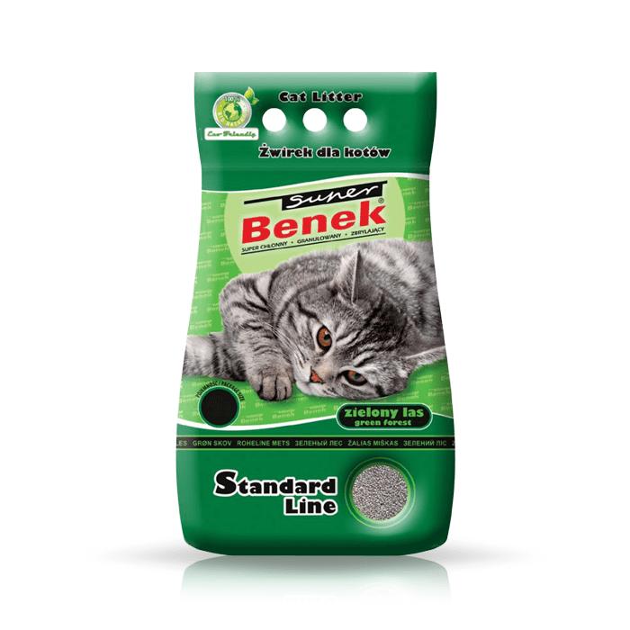 żwirek dla kota - Żwirek Super Benek Zielony Las