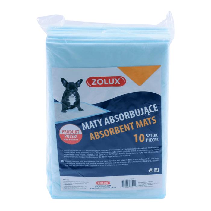Produkty higieniczne - Zolux Maty absorbujące 45x60cm 10szt