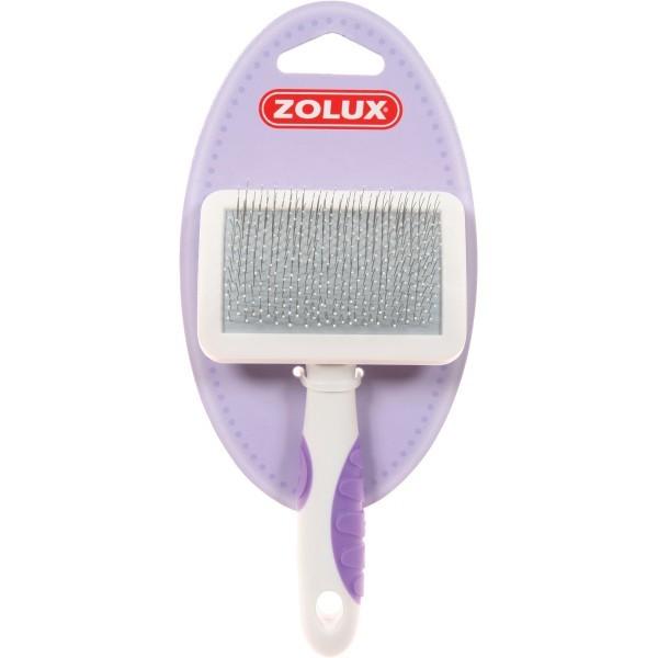 Higiena, pielęgnacja sierści - Zolux Zgrzebło plastikowe dla kota duże