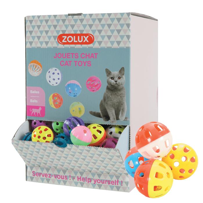 Zabawki - Zolux Piłeczka dla kota