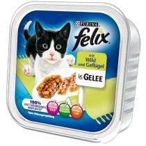 Felix w galaretce tacka kurczak i dziczyzna 100g x 12