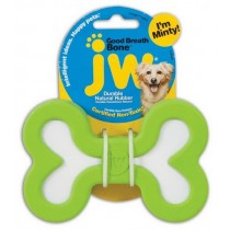 JW Pet Good Breath Bone zabawka miętowa dla psa - Large