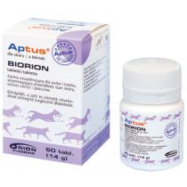 Aptus bioron tabletki na sierść i skórę 60 tabl.