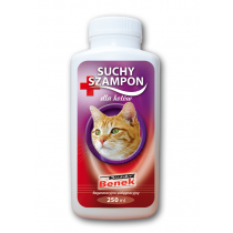 Super Benek suchy szampon regeneracyjny dla kotów 250ml