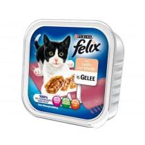 Felix w galaretce tacka łosoś i flądra 100g x 12