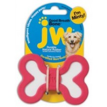 JW Pet Good Breath Bone zabawka miętowa dla psa - Medium