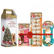 8in1 Zestaw świątecznych smakołyków dla psa small&medium