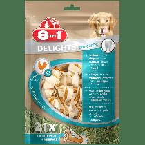 8in1 Delights Pro Dental Bones kość wiązana XS 21szt.