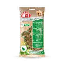 8in1 Minis rabbit & herbs - królik w ziołach 100g