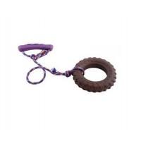 Sum-plast sznur z oponą dla małego psa