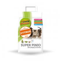 Żwirek Super Benek Pinio Zbrylający Cytryna 7l