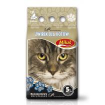 Żwirek Miluś Premium zbrylający bentonitowy 5l
