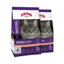 Arion Original Cat Sensible Salmon 2x7,5kg