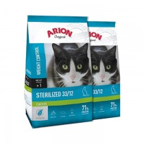 Arion Original Cat Sterilized Chicken 2x7,5kg