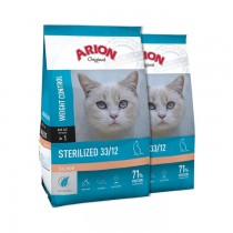Arion Original Cat Sterilized Salmon 2x7,5kg