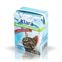 Klara Mleko dla kotów i kociąt 200ml