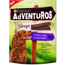 Purina Adventuros strips o smaku sarniny 90g