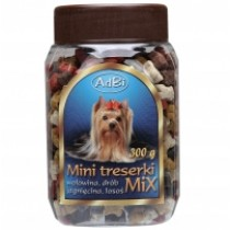 AdBi Mięsne Treserki mini mix 300g