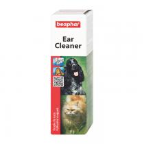 Beaphar Ear Cleaner Krople do pielęgnacji uszu dla psa i kota 50ml