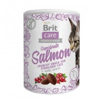 Brit Care Cat Snack Superfruits salmon 100g