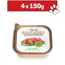 Brit Boutiques Gourmandes Puppy One Meat 150g x 4