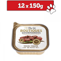 Brit Boutiques Gourmandes Small Breed One Meat 150g x 12