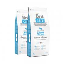Brit Care Grain-free Junior Large Breed Salmon & Potato 2x12kg